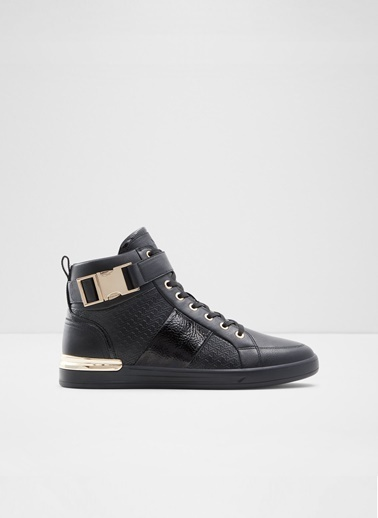 Aldo Brauer - Siyah Erkek Sneaker Siyah
